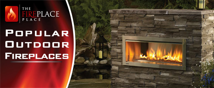 Popular Outdoor Fireplaces for Atlanta