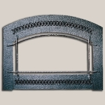 Artisan Face Charcoal Painted Finish Frame