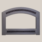 Classic Arch Face Black Painted Finish Frame