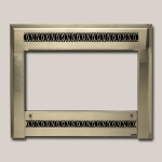 Metropolitan Face Brushed Nickel Finish