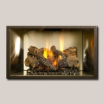 Stainless Steel Fireplace Gas Logs