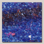 Crushed Glass Cobalt