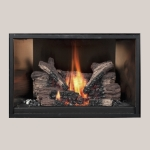 Stainless Steel Fireback Stainless Steel Fireplace