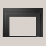Shadow Box Black Painted Finish