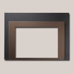Shadow Box Bronze Powder Coated Finish