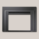 Metropolitan Face Black Painted Finish