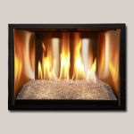 Stainless Steel Small Fireplace