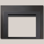 Black Painted Finish Universal Face