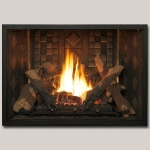 Diamond Mosaic Gas Fireplace