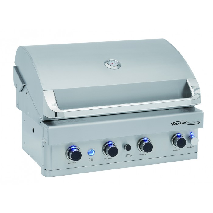 Turbo Elite 4 Burner Built In Barbecue Gas Grill