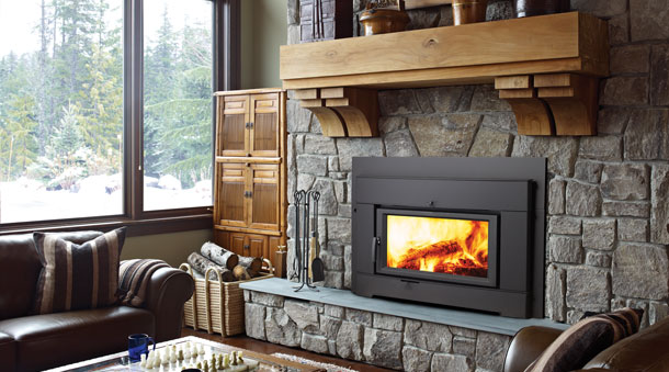 Regency ci2600 large wood insert the fireplace place for New construction wood burning fireplace