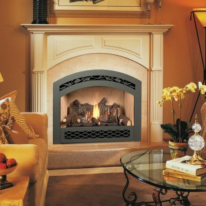 564 High Output GSR2 Ember-Fyre Gas Fireplace