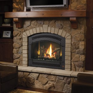 864 High Output Dancing-Fyre GSR2 Gas Fireplace