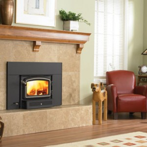 Large Flush Hybrid Fyre Wood Insert Arched The