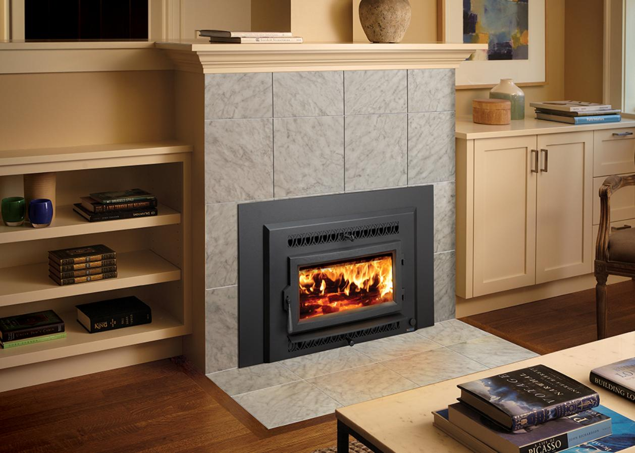 Contemporary fireplace ideas the fireplace place Contemporary wood burning fireplace inserts