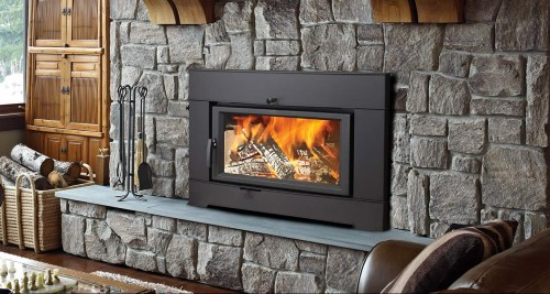 33 Elite Plus Rectangular Wood Insert The Fireplace Place