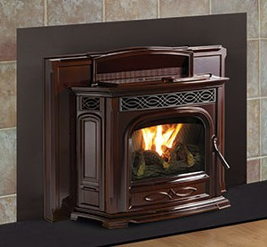 P35i Pellet Insert The Fireplace Place