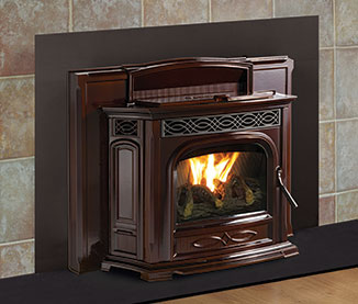 accentra 52i pellet insert the fireplace place. Black Bedroom Furniture Sets. Home Design Ideas