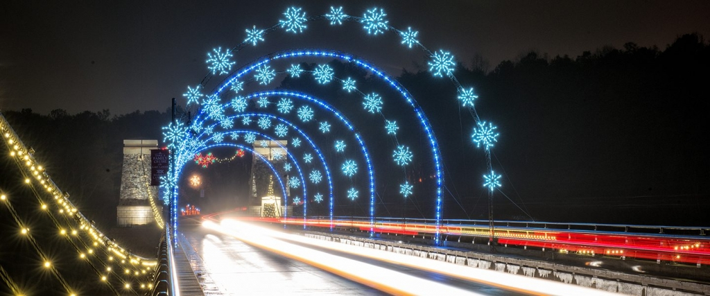 where to see Christmas Lights in Atlanta