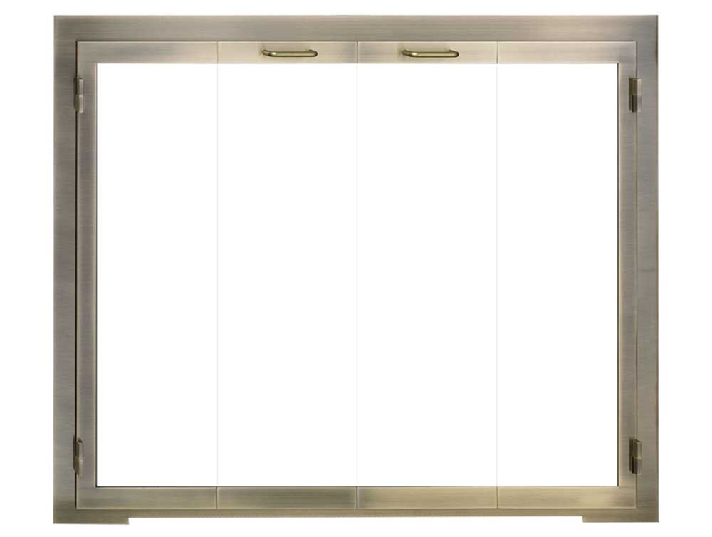 Legend Glass Zero Clearance Fireplace Door The Fireplace Place