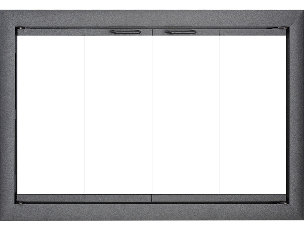 Brookfield Glass Zero Clearance Fireplace Door The Fireplace Place