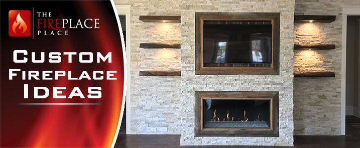 View Larger Image Custom Fireplace Ideas