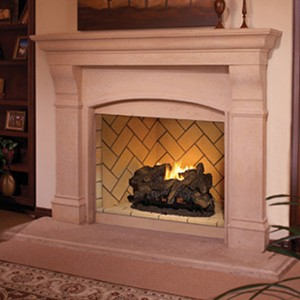 Superior Gas Vent-Free Fireplace VRT6000