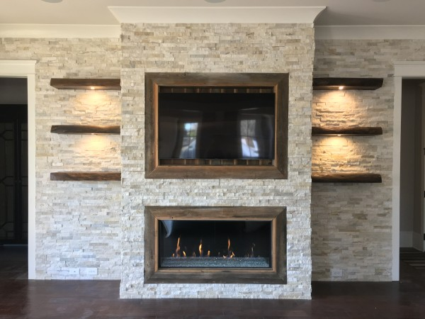 Custom Fireplace Ideas | Fireplace Designs | The Fireplace Place