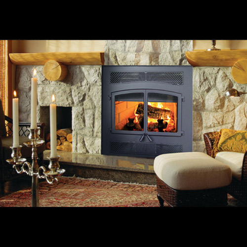 High Efficiency Wood Fireplace