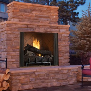 Superior Gas Outdoor Vent-Free Fireplace VRE6000