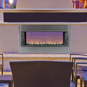 Superior Gas See-Thru Outdoor Vent-Free Fireplace VRE4543