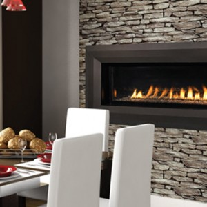 Superior Gas See-Thru Vent-Free Fireplace VRL4543