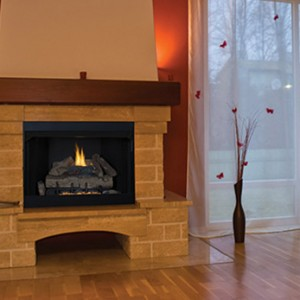 Superior Gas Vent-Free Fireplace VRT/VCT2000