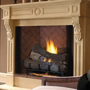 Superior Gas Vent-Free Fireplace VRT4500