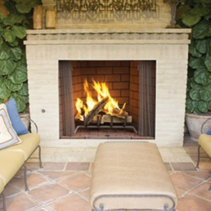 Superior Outdoor Wood Burning Fireplace WRE4500
