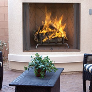 Superior Outdoor Wood Burning Fireplace WRE6000
