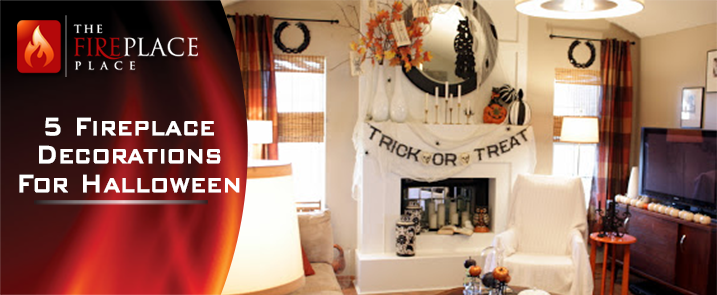 5 fireplace decoration ideas for halloween