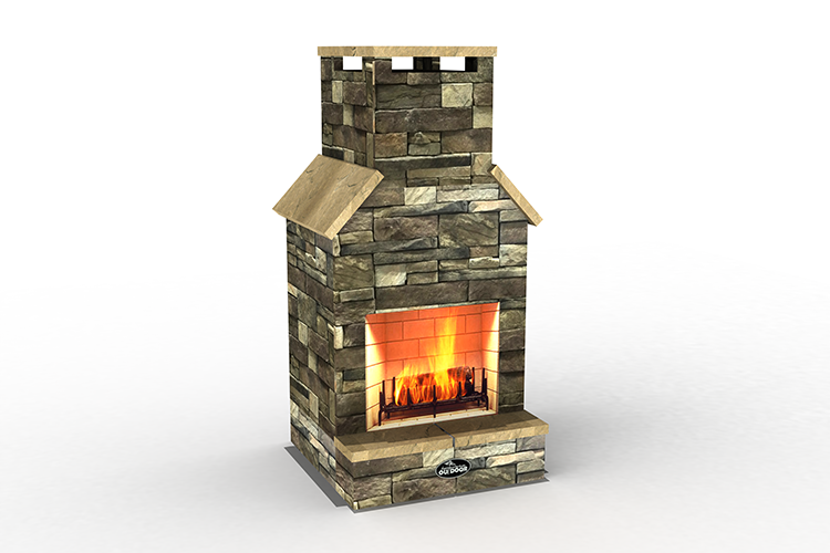 The Chief Outdoor Fireplace