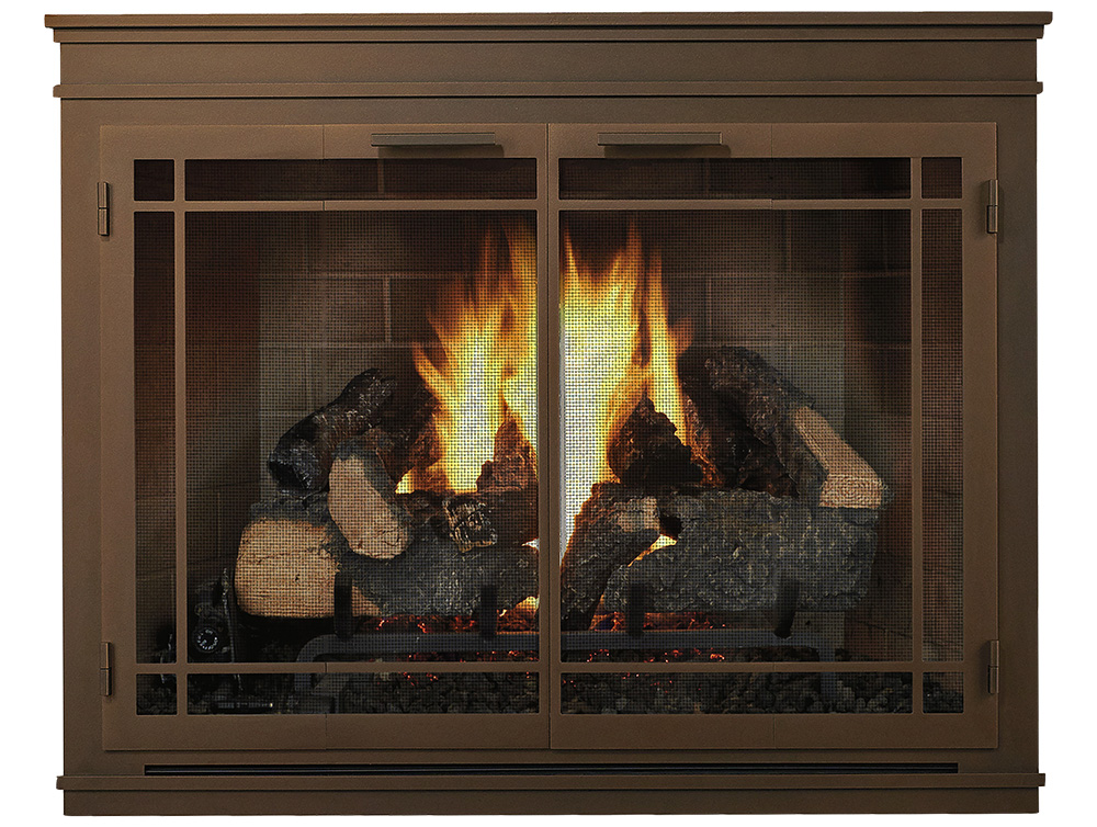 Glass Doors Custom Fit The Fireplace Place