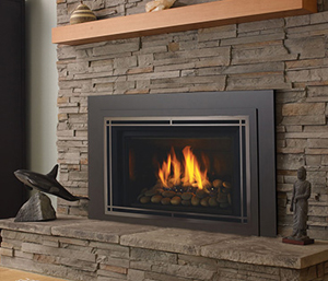 High-Efficiency Wood Fireplaces