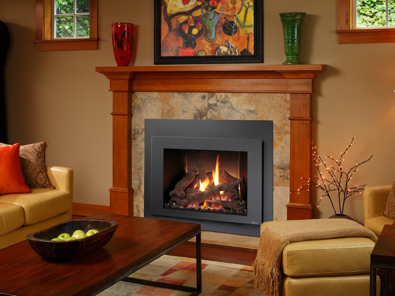 fireplace heat room fireplaces kozy chaska product gas bak inserts insert