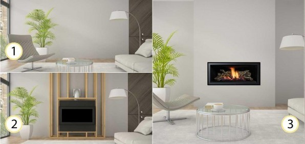 Install a New Fireplace or Stove - The Fireplace Place