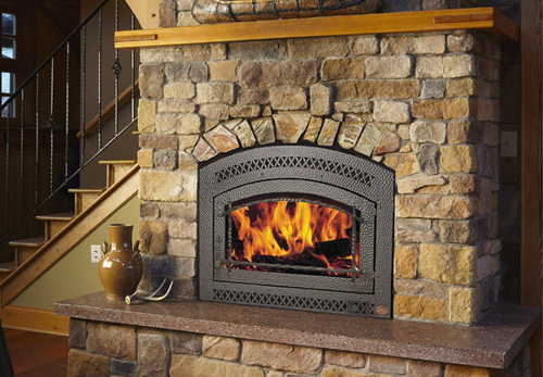 Gas vs wood fireplace heat output the place of