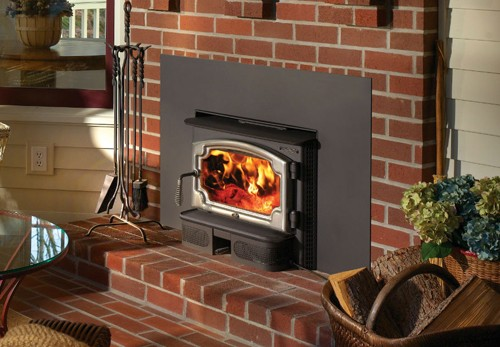 Lopi Republic 1750i Wood Insert The Fireplace Place