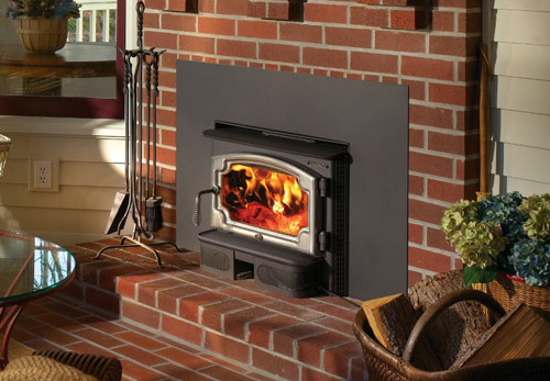 Lopi Answer Wood Stove Insert The Fireplace Place