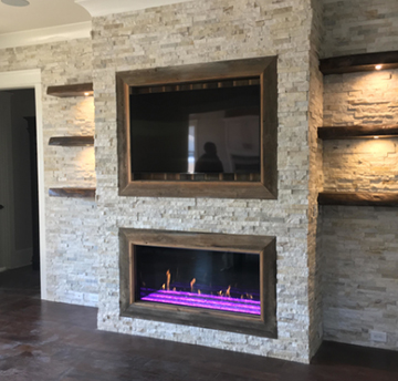 davinci fireplace project