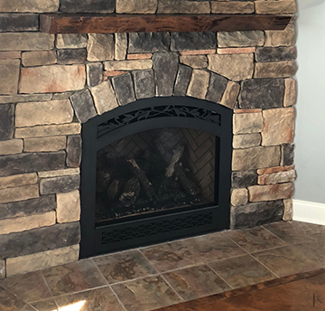 Benford Fireplace Project