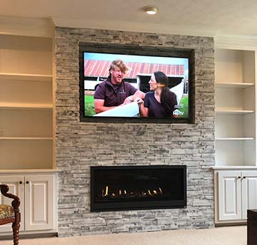 custom fireplace design
