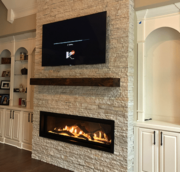 custom fireplace projects page image