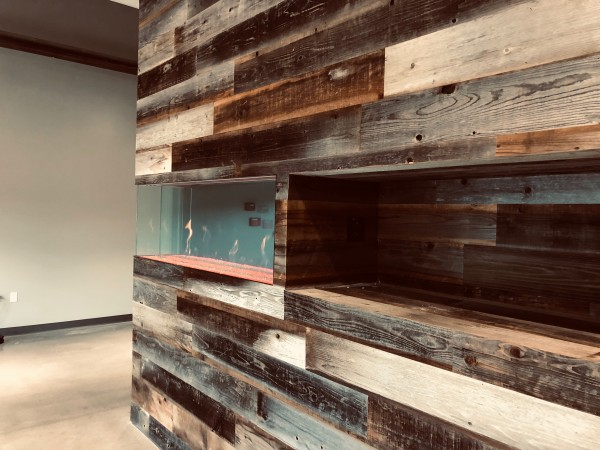 custom commercial fireplace